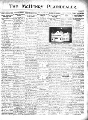 McHenry Plaindealer (McHenry, IL), 22 Feb 1912