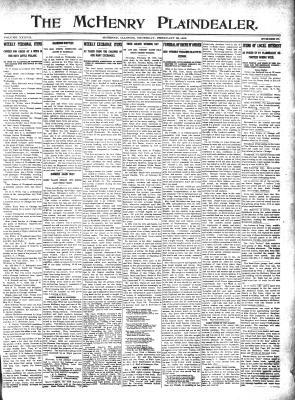 McHenry Plaindealer (McHenry, IL), 29 Feb 1912