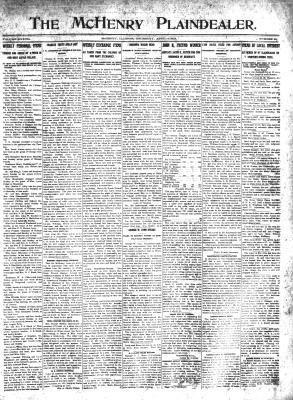 McHenry Plaindealer (McHenry, IL), 4 Apr 1912