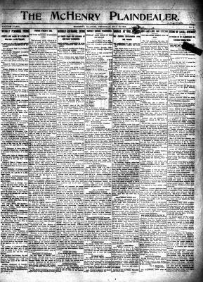 McHenry Plaindealer (McHenry, IL), 10 Jul 1913