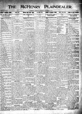 McHenry Plaindealer (McHenry, IL), 23 Oct 1913