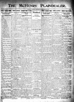 McHenry Plaindealer (McHenry, IL), 20 Nov 1913