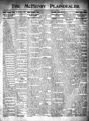 McHenry Plaindealer (McHenry, IL), 12 Feb 1914