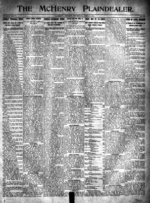 McHenry Plaindealer (McHenry, IL), 9 Apr 1914