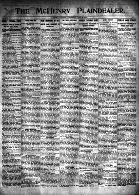 McHenry Plaindealer (McHenry, IL), 23 Jul 1914