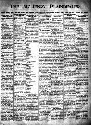 McHenry Plaindealer (McHenry, IL), 6 Aug 1914