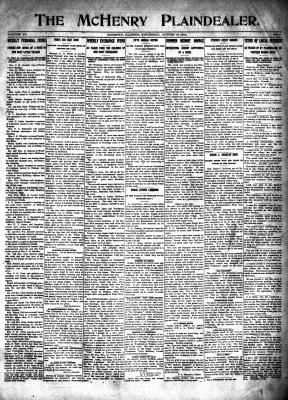 McHenry Plaindealer (McHenry, IL), 13 Aug 1914