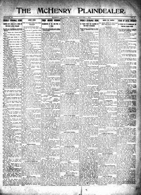 McHenry Plaindealer (McHenry, IL), 1 Oct 1914