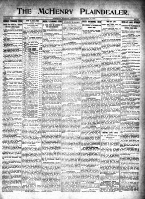 McHenry Plaindealer (McHenry, IL), 10 Dec 1914