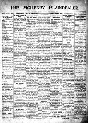 McHenry Plaindealer (McHenry, IL), 14 Jan 1915