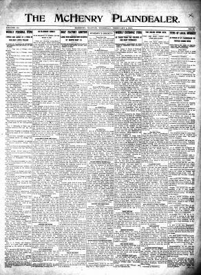 McHenry Plaindealer (McHenry, IL), 4 Feb 1915