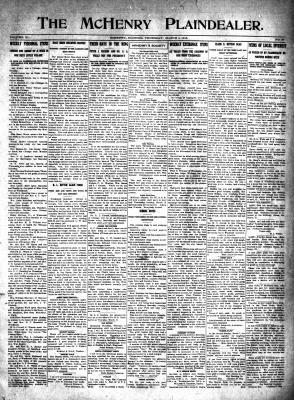 McHenry Plaindealer (McHenry, IL), 4 Mar 1915