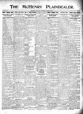 McHenry Plaindealer (McHenry, IL), 22 Apr 1915