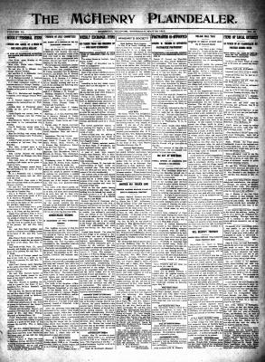McHenry Plaindealer (McHenry, IL), 20 May 1915