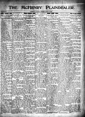 McHenry Plaindealer (McHenry, IL), 15 Jul 1915