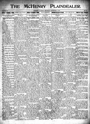 McHenry Plaindealer (McHenry, IL), 11 Nov 1915
