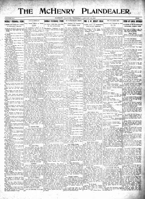 McHenry Plaindealer (McHenry, IL), 20 Jan 1916