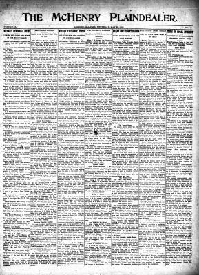 McHenry Plaindealer (McHenry, IL), 25 May 1916