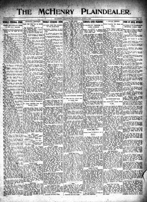 McHenry Plaindealer (McHenry, IL), 8 Jun 1916