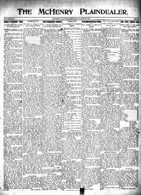 McHenry Plaindealer (McHenry, IL), 22 Mar 1917