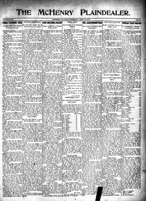 McHenry Plaindealer (McHenry, IL), 19 Apr 1917