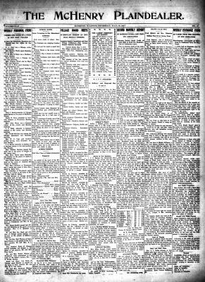 McHenry Plaindealer (McHenry, IL), 10 May 1917