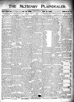 McHenry Plaindealer (McHenry, IL), 9 Aug 1917