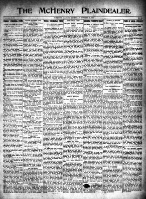 McHenry Plaindealer (McHenry, IL), 25 Oct 1917