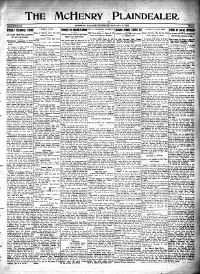 McHenry Plaindealer (McHenry, IL), 17 Jan 1918