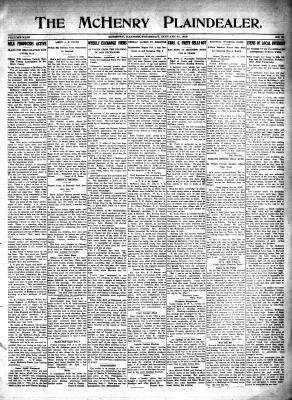 McHenry Plaindealer (McHenry, IL), 31 Jan 1918