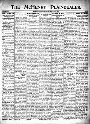 McHenry Plaindealer (McHenry, IL), 14 Feb 1918