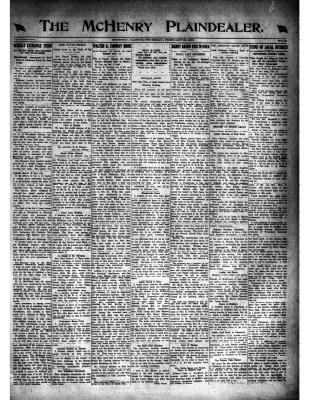 McHenry Plaindealer (McHenry, IL), 20 Feb 1919