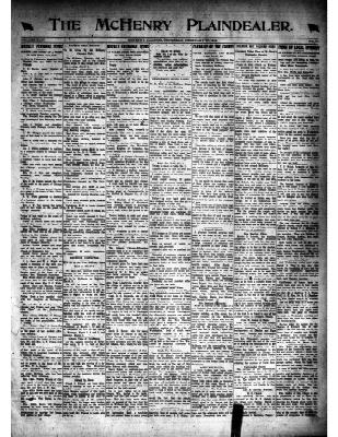 McHenry Plaindealer (McHenry, IL), 27 Feb 1919