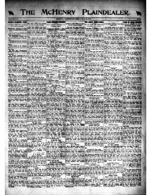 McHenry Plaindealer (McHenry, IL), 22 May 1919