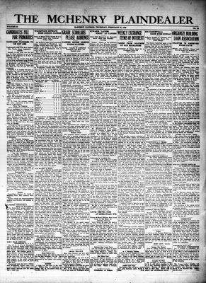 McHenry Plaindealer (McHenry, IL), 23 Feb 1928
