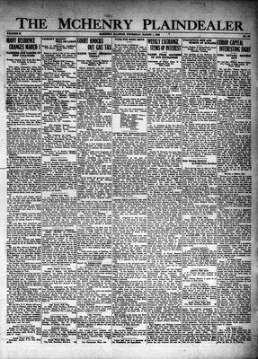 McHenry Plaindealer (McHenry, IL), 1 Mar 1928