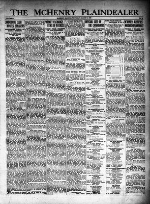 McHenry Plaindealer (McHenry, IL), 8 Mar 1928
