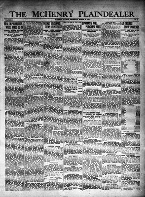 McHenry Plaindealer (McHenry, IL), 15 Mar 1928