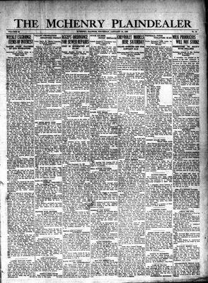 McHenry Plaindealer (McHenry, IL), 10 Jan 1929