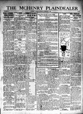 McHenry Plaindealer (McHenry, IL), 7 Feb 1929