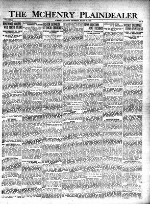 McHenry Plaindealer (McHenry, IL), 28 Mar 1929