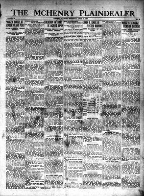 McHenry Plaindealer (McHenry, IL), 18 Apr 1929