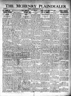 McHenry Plaindealer (McHenry, IL), 9 May 1929