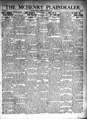 McHenry Plaindealer (McHenry, IL), 22 Aug 1929