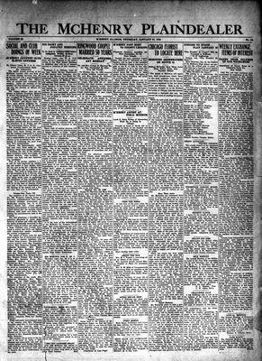 McHenry Plaindealer (McHenry, IL), 23 Jan 1930