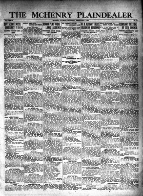 McHenry Plaindealer (McHenry, IL), 6 Feb 1930