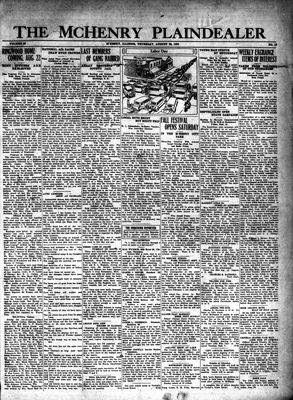 McHenry Plaindealer (McHenry, IL), 28 Aug 1930