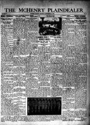 McHenry Plaindealer (McHenry, IL), 11 Sep 1930