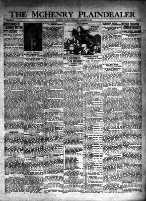 McHenry Plaindealer (McHenry, IL), 16 Oct 1930