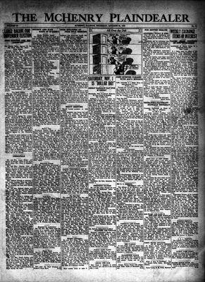 McHenry Plaindealer (McHenry, IL), 23 Oct 1930
